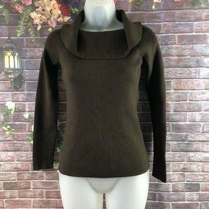 LOFT Women's Sweaters Crozy Cowl Neck Size M